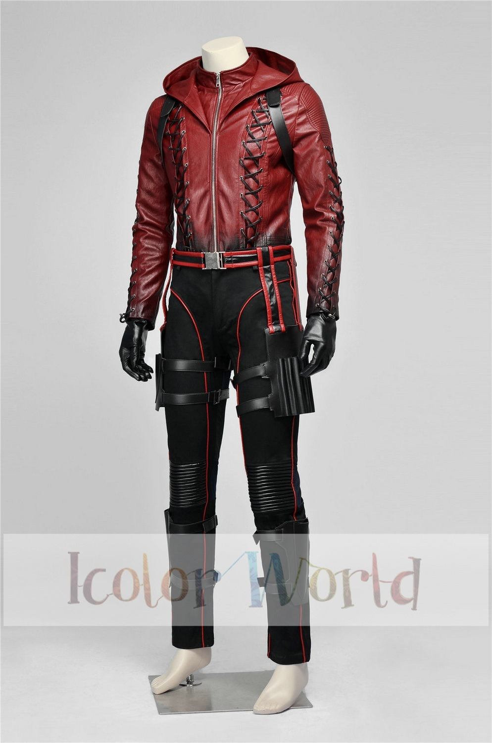Hot Movie Deluxe Arrow 3 Red Arrow Roy Harper Arsenal Cosplay Costume  Halloween Costume-in Movie & TV costumes from Novelty & Special Use on  Aliexpress.com ...