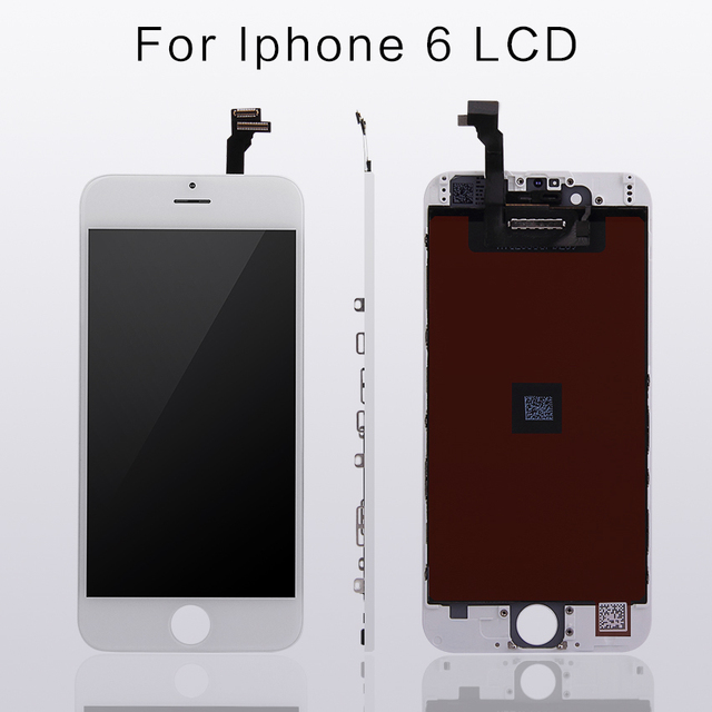 10PCS TIANMA  4.7HD For AAA+++ iPhone 6 LCD display  For 4.7 inch screen Replacement Lens Free DHL