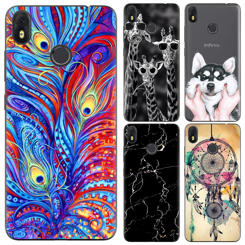 Phone Case For Infinix Hot S3 X573 5.65-inch Cute Cartoon High Quality Painted TPU Soft Case Silicone back Cover