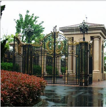 Wrought Iron Estate Gates Large Metal Gates Buy Driveway Gate