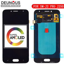 Super Amoled LCD Für SAMSUNG Galaxy J2 Pro LCD 2018 J250 J250F J250DS LCD Display Touchscreen Digitizer Montage 100% getestet(China)