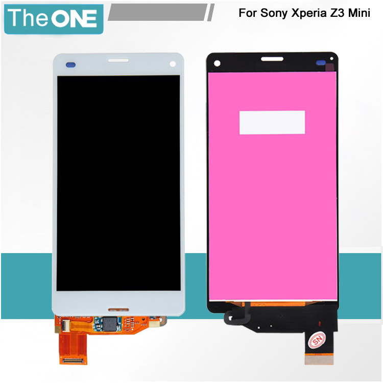 ФОТО 100% test good working For Sony Z3 mini D5803 D5833 LCD Display Touch screen Digitizer