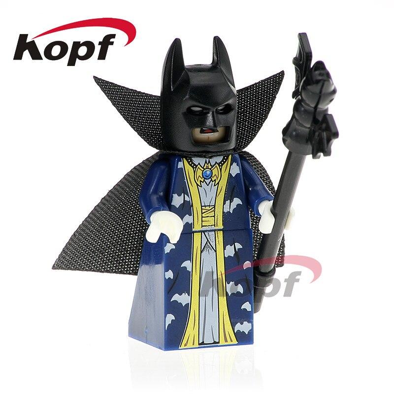 Building Blocks Single Sale Master Batman Super Heroes Apache Chief Bat Alfred Green Arrow Dolls Bricks Children Gift Toys PG423