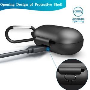 Image 2 - Apertura a conchiglia Anti shock Flessibile Del Silicone Completa di Protezione Caso Della Copertura Completa per Samsung Galaxy Boccioli di Bluetooth di Sport