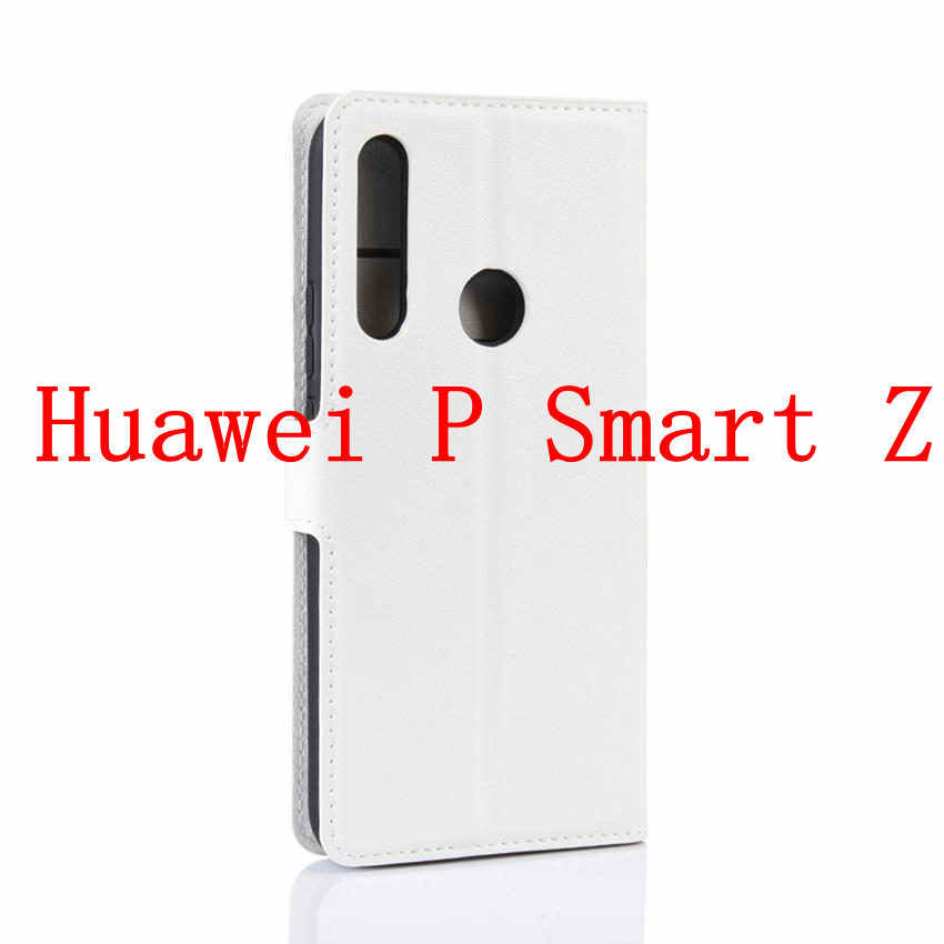 Funda Huawei Y9 prime 2019 funda de lujo nova 5i Cartera de cuero PU funda de teléfono para Huawei P Smart Z PSmart Z PSmartZ STK-LX1