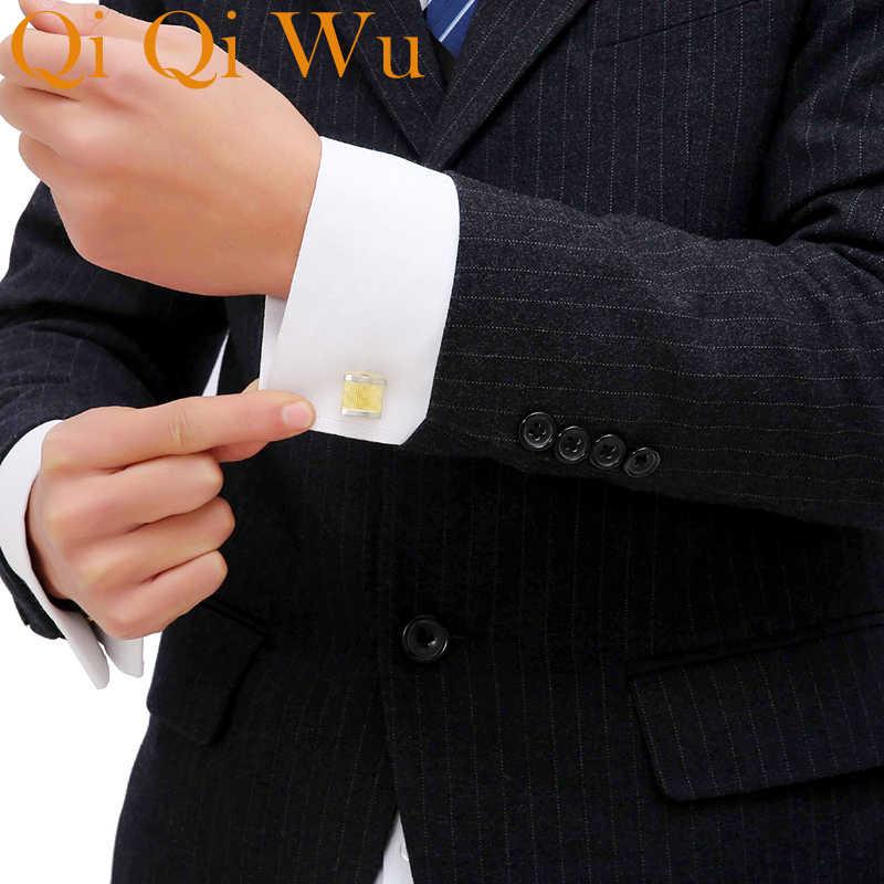 Gold Cufflinks for Mens French Shirt Designer Brand Cuff links Buttons  Golden High Quality Luxury Male Wedding Jewelry Men Gift brand cufflinks  for mens cufflinks for menscufflinks for mens brand - AliExpress