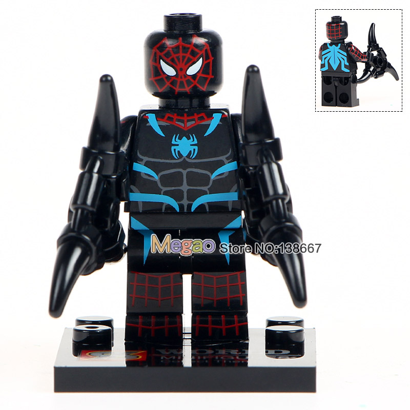 10Lots de SY674 Marvel Spiderman Set Venom Carnage fer Spider Man 2099 blocs de construction ensembles modèle briques jouets Spider Man-in Blocs from Jeux et loisirs    2