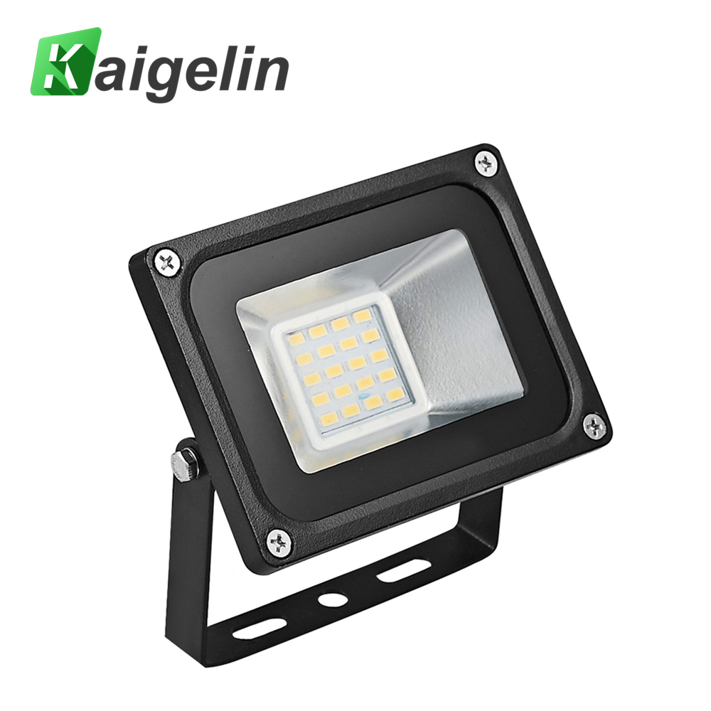 Kaigelin LED Flood Light 20W 5730SMD IP65 LED Flood Lamp per Stadium Square Billboard Parking Illuminazione esterna Proiettore 220V