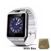 DZ09 Moda Esporte Relógio Inteligente SIM Suporte o Cartão Do TF Para O Telefone Android Smartwatch Homem Mulheres Câmera Bluetooth dispositivo wearable