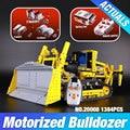 LEPIN 20008 technic series remote contro lthe bulldozer Model Assembling Building block Bricks kits Compatible with  42030