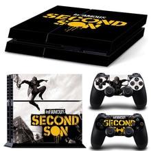 Second Son PS4 Skin Sticker Cover