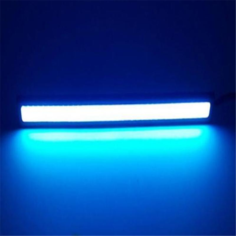 New (Ice Blue Light) 2Pcs  Slim Super Bright Long life COB Car LED Lights 12V For DRL Fog Driving Lamp car cob led h7 bulb fog light parking lamp bulbs driving foglight 7 5w drl 2pcs amber yellow white red ice blue
