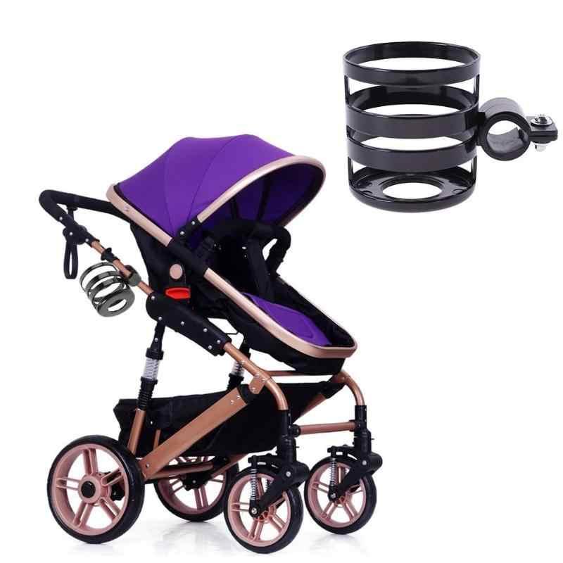 Wózek dziecięcy uchwyt na kubek butelki na mleko Rack 2018 rowerów Quick Release butelki na wodę kubek uchwyt z tworzywa sztucznego akcesoria do wózka dziecięcego