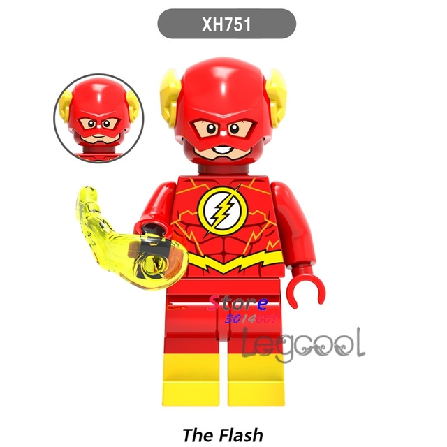 1PCS model building blocks action figures starwars superheroes The Flash bricks for children classic diy toys for children gifts