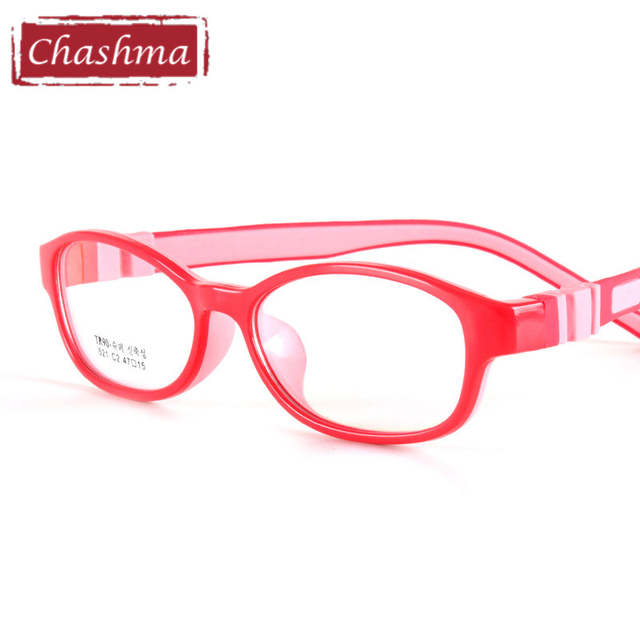 9ebdbe9975 Chashma Brand Silicone Eyelasses Kids Flexible Rubber Glasses Frames for  Girls and Boys