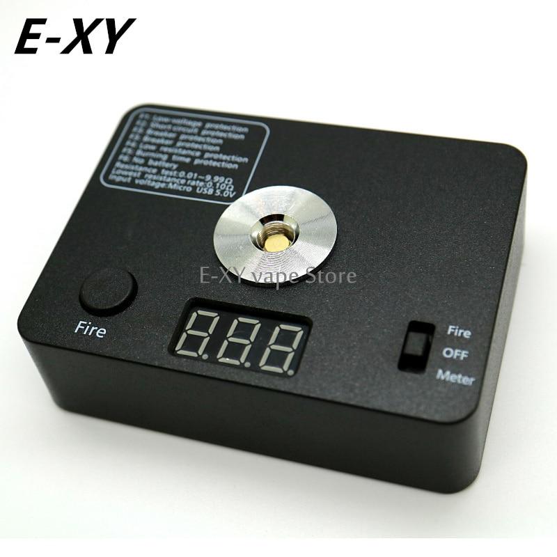 521 TAB Mini V3 Verktygssats Ohm-mätare Spolekontroll Digital Med Motståndstest / Brand / USB Laddning Passar 18650 Batteri