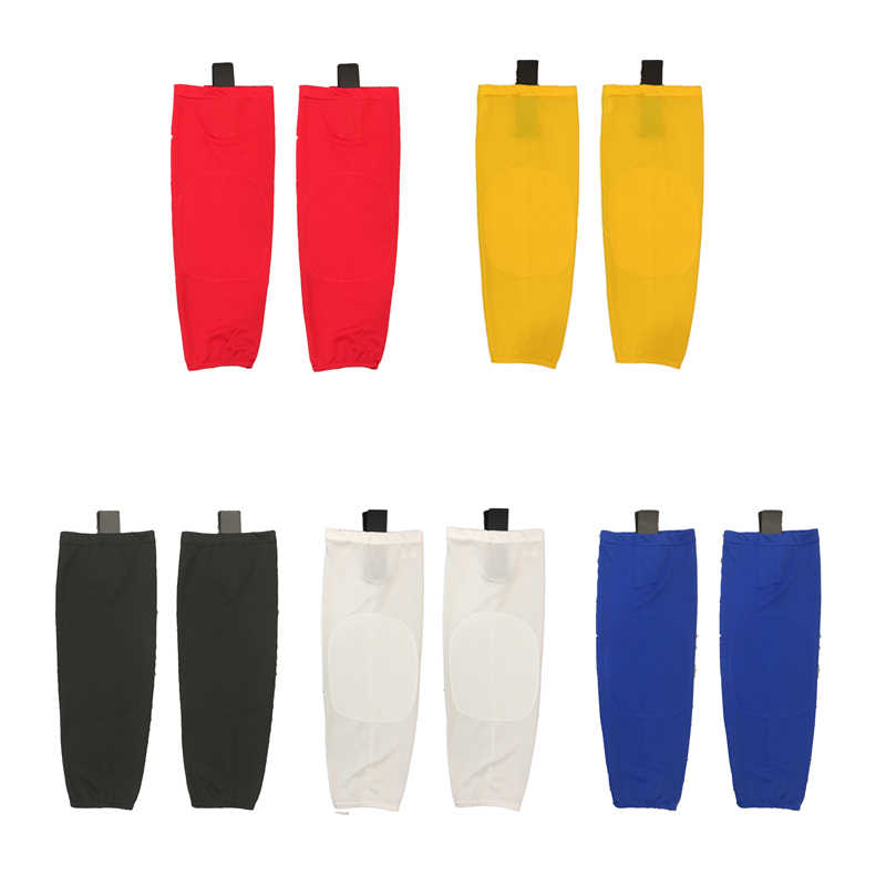 Coldoutdoor 100% Polyester Eishockey sport Socken Günstige Shin Guards Für Team