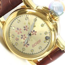 Ladies Automatic Watch Gold Grace Design Calendar Gift