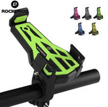 ROCKBROS Bicycle Phone Holder Adjustable Road Bike Universal  Cellphone Mount Bracket Cycling Accessories