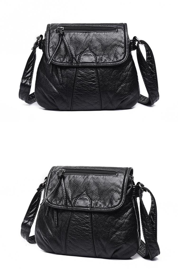 Women Crossbody Messenger Bags Soft PU Leather