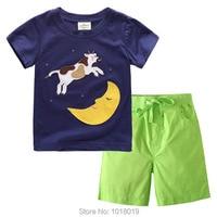 2T 7T Brand Quality 100 Cotton Toddler Boys 2pcs Children Suits Clothing Clothes Pajamas Sets Sleepwear