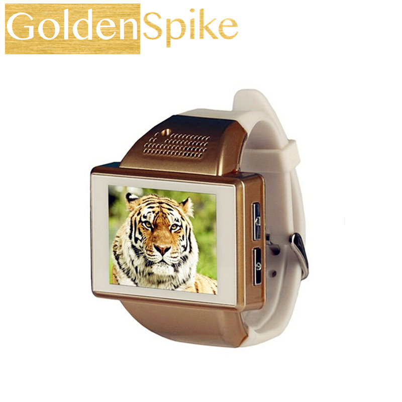 GoldenSpike an1 Android 4.1 Smart Watch AN1 Cell Phone Dual Core 2.0 Inch Touch Screen Watch SIM Mobile Phone 2.0 MP WiFi FM GPS an1 capacitive touch screen android 4 1 watch phone w 2 0 512mb ram 256mb rom black