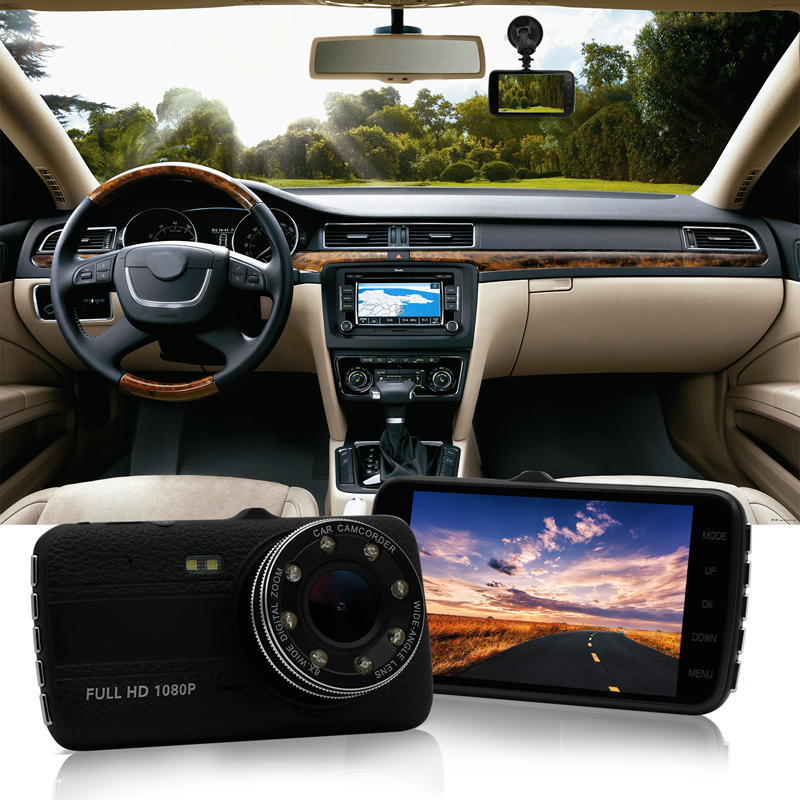4.0 Inch Screen Car DVR Car Camera For Audi BMW X5 X3 X1 Mercedes Benz VW Toyota Sline Lexus Mini Maserati Infiniti Ford focus 2