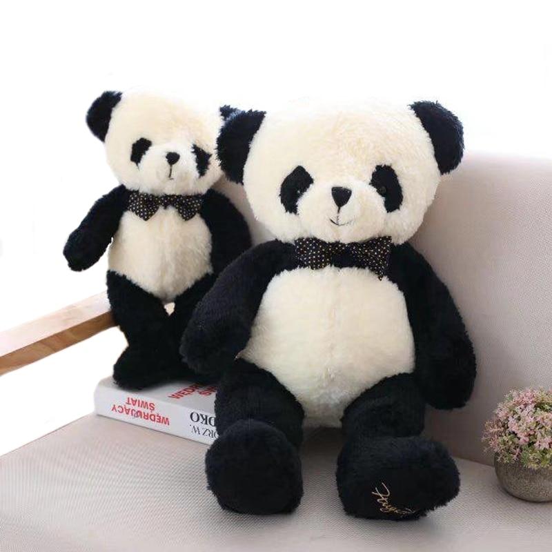 1 шт. 40-80 см, милая панда, плюшевые игрушки, мягкие Мультяшные животные, кукла, милый медведь, подарок для детей, для маленьких девочек, подарок...