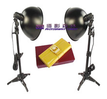 photographic lighting photography lamp Mini Photo Studio Light Tent Kit Photography light set desktop mount 27cm lamp cover CD50