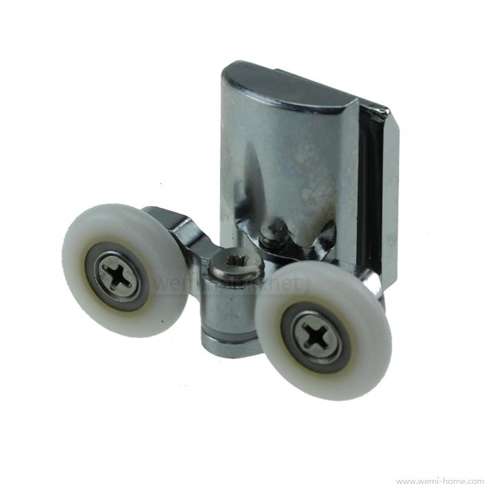 Old  Shower Cabin Pulley Shower Sliding Door Pulleys 25mm Or 23mm Pulleys Runner Roller