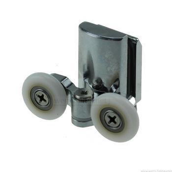 Stara kabina prysznicowa koło pasowe prysznicowe drzwi przesuwne koła pasowe 25mm lub 23mm tanie i dobre opinie Ze stopu Aluminium ze stopu Aluminium Akrylowe Electroplate CT-old -(23mm or 25mm) Clarmonde Diament typu DIAMOND Cynk-stop