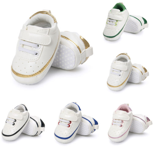 Emmababy Adorable Sneakers Newborn Baby Crib Shoes Boys Girls Infant Toddler Soft Sole