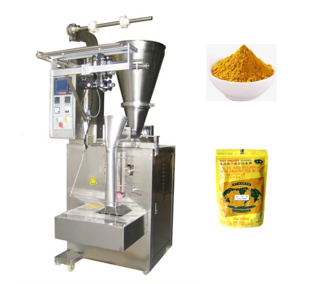 Factory price 1-500g plastic bag cans screw filler coconut milk powder packing machine