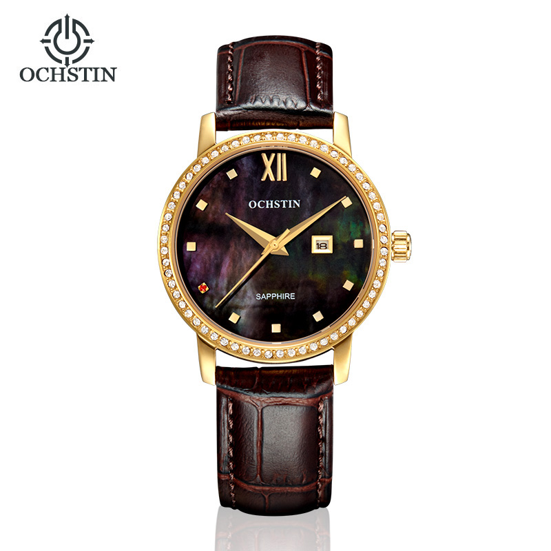 OCHSTIN Classic Casual Dress Watch Women Elegant Quartz Diamond Wrist Watches Ladies Wristwatch Pear Dial Leather Strap RetroOCHSTIN Classic Casual Dress Watch Women Elegant Quartz Diamond Wrist Watches Ladies Wristwatch Pear Dial Leather Strap Retro