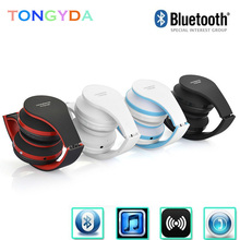 Bluetooth Headphones fashion Earphone Wireless Headphones Stereo Foldable Sport Earphone Microphone headset Handfree MP3 player best price fashion earphones stereo sport headset headphones earphone mp3 music player for micro sd tf slot 2016 new arrival