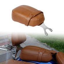 Motorcycle Leather Passenger Pillion Seat For Indian Scout Models 15-18 Sixty 16-18