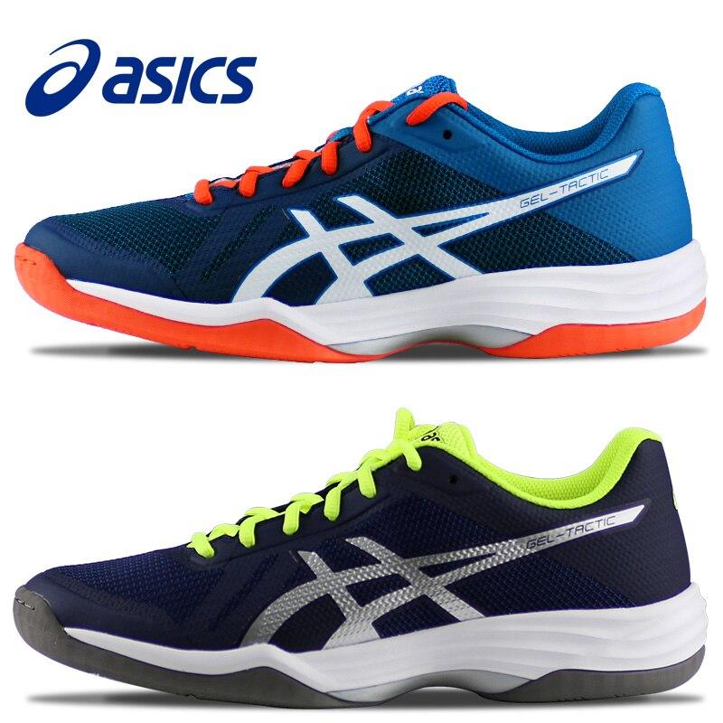 e5bfe369f79 Asics GEL-TÁTICA Vôlei genuíno Sapatos Para Homens Tênis Sapatos Badminton  Esportes Indoor B702N Sapatos De Vôlei Homens Loja Online