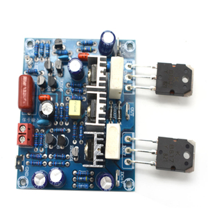 Image 4 - 2pcs HiFi MX50 SE 2.0 dual channel 100W+100W Stereo Power amplifier DIY KIT and finished board