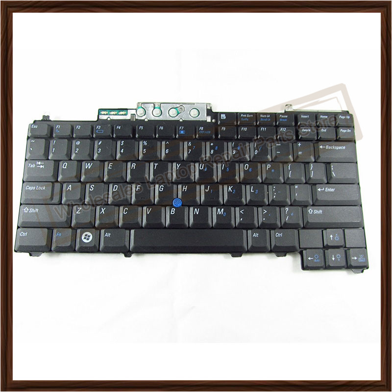 Computer Peripherals Mouse & Keyboards Us Keyboard Black For Dell Latitude D630 D620 D830 D820 Pp10s Pp18l M65 Laptop