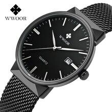 Black Wrist Watch Men Top Brand Luxury Famous Male Clock Ultra Thin Date Waterproof Steel Strap Casual Watch relogio masculino цена и фото