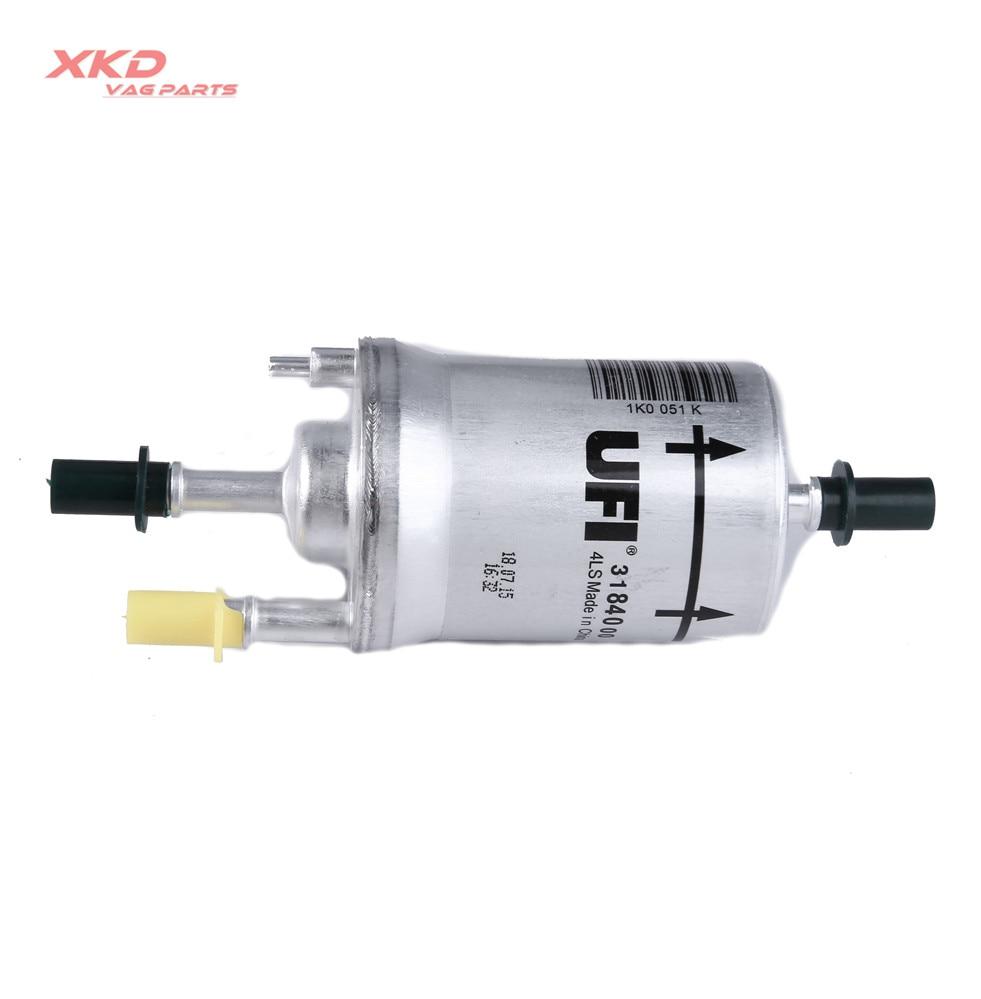 medium resolution of gasoline fuel filter 6 4 bar for audi a3 s3 tts rs3 ttrs tt vw beetle golf jetta passat polo eos