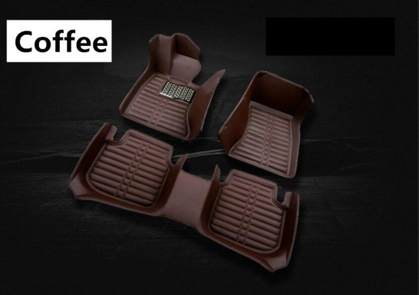 Tapis de sol Auto pour Peugeot 308 2015-2018 tapis de pied tapis de haute qualité nouveau tapis de couleur unie propre imperméable à l'eau