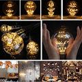 Vintage E27/E26 220V/240V Spiral Incandescent Light Novelty Fixture Glass COB LED Edison light Bulb lighting tubes Filament Bulb