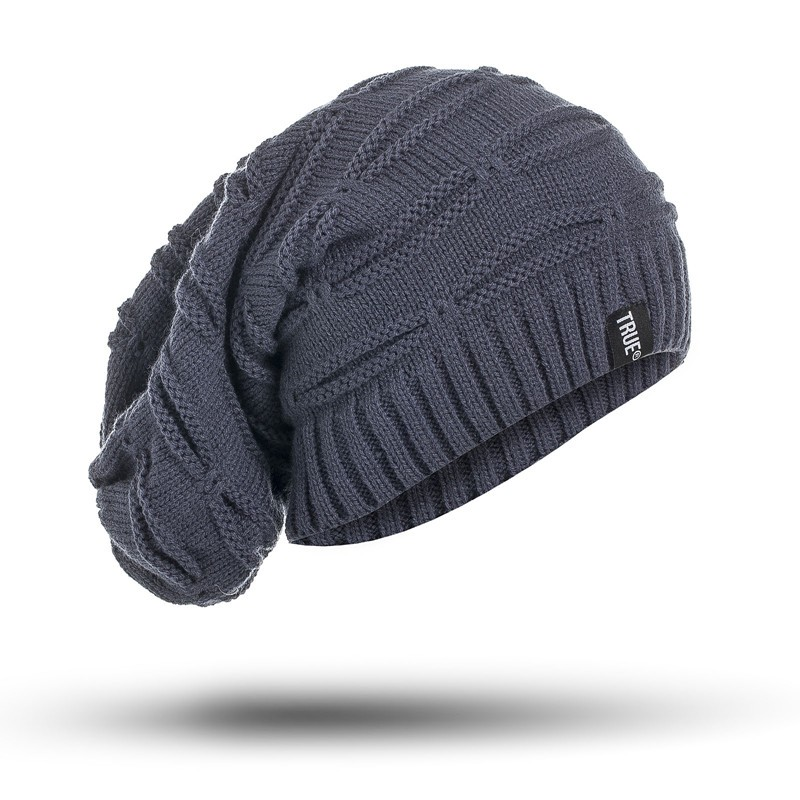 Beanie Hat - Winter Hat Long Size Knitted Cap Men & Women