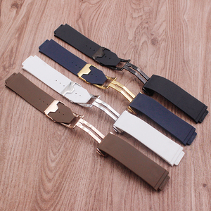 Image 4 - Watch accessories for Hublot watch strap silicone rubber strap BIG BANG mens strap 25 mm* 17 mm strap mens top brand strap
