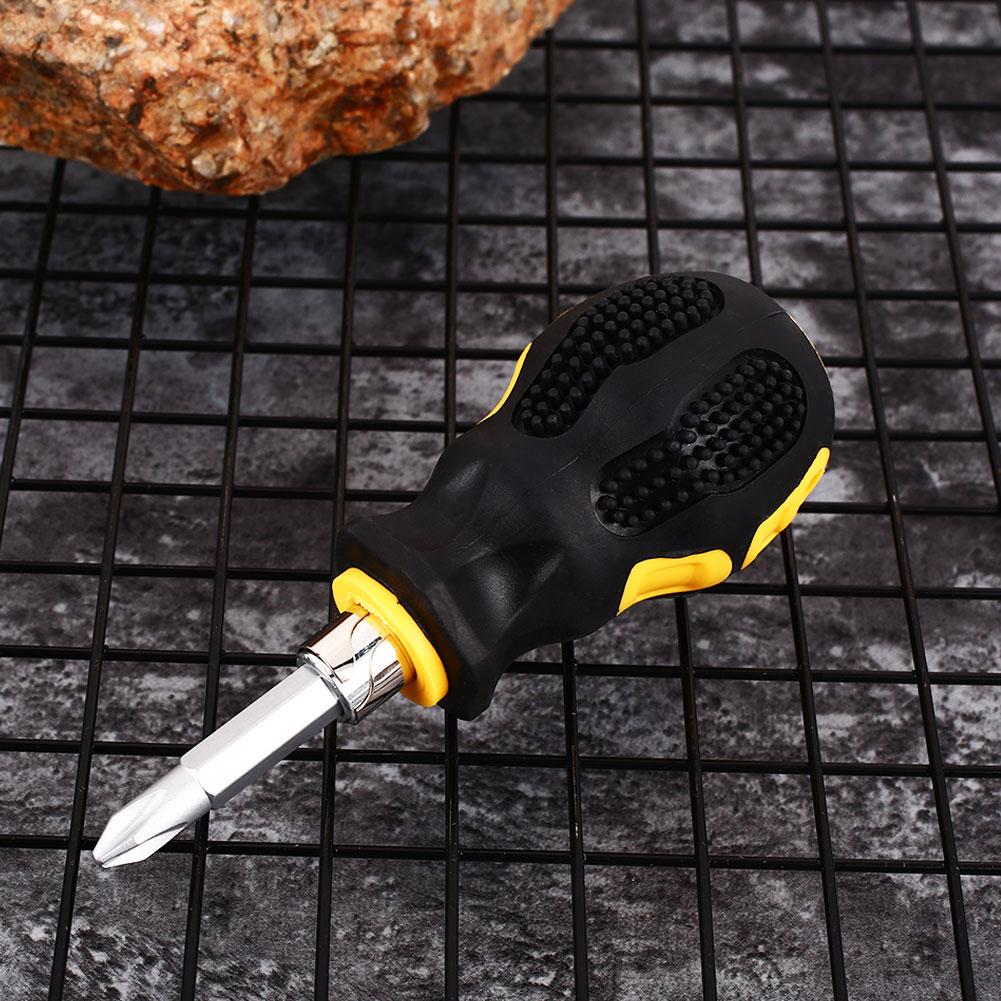 Металлическая отвертка портативный храповый ключ отвертка двойного назначения инструмент для ремонта бытовой техники маленькая отвертка