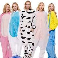 Flannel Anime Pajama Cartoon Panda Adult Unisex Cosplay 2015 Cute Fashion Animal Pajamas