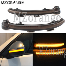 Car LED Flowing Rear View Mirror Light For VW Golf 7 MK7 VII Passat B8 Rearview Dynamic Sequential Mirror Water Turn Signal Lamp flowing turn signal lamp rearview mirror running light for nissan x trail qashqai 2015 2018
