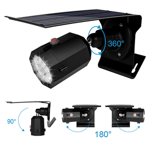 Image 3 - 10 LED Solar Light Adjustable Lighting Angle 500lm Waterproof Lamp Spotlight With Three Modes For Outdoor Gardn Wall Yard