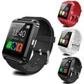 Novo bluetooth smartwatch smart watch u8 u relógio para ios iphone samsung sony huawei xiaomi android telefones bom como gt08 DZ09